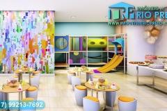 Área de Lazer - Sala de Festas Infantil