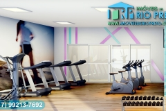 Área de Lazer - Sala Fitness